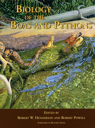 Image for Biology of the Boas and Pythons,