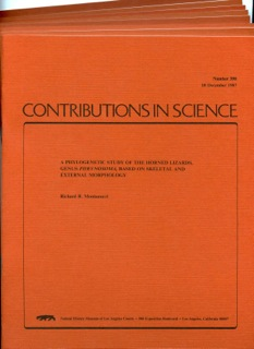 Image for Bundle # 5 (Contributions in Science)