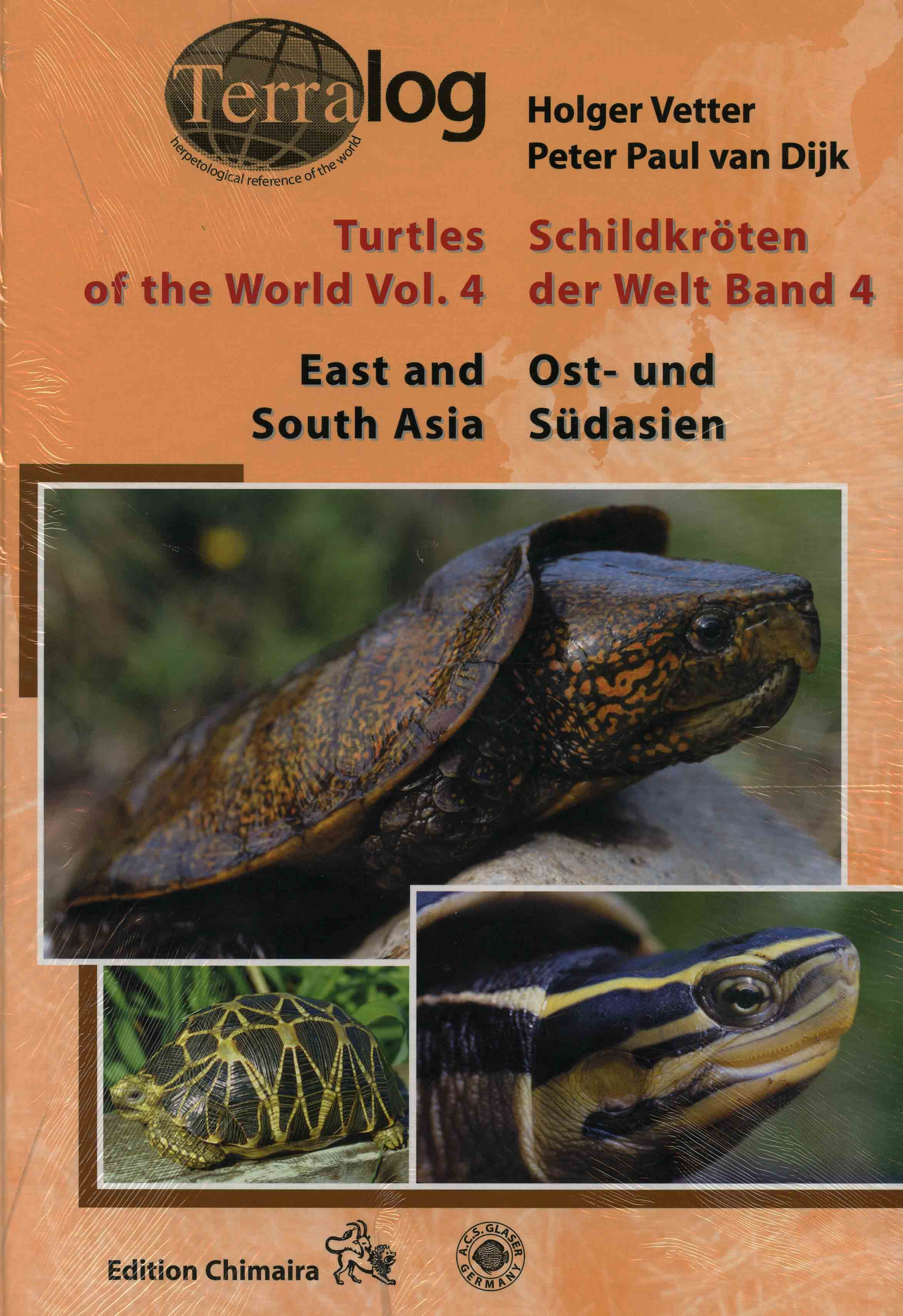 Image for Turtles of the World Vol 4: East and South Asia,