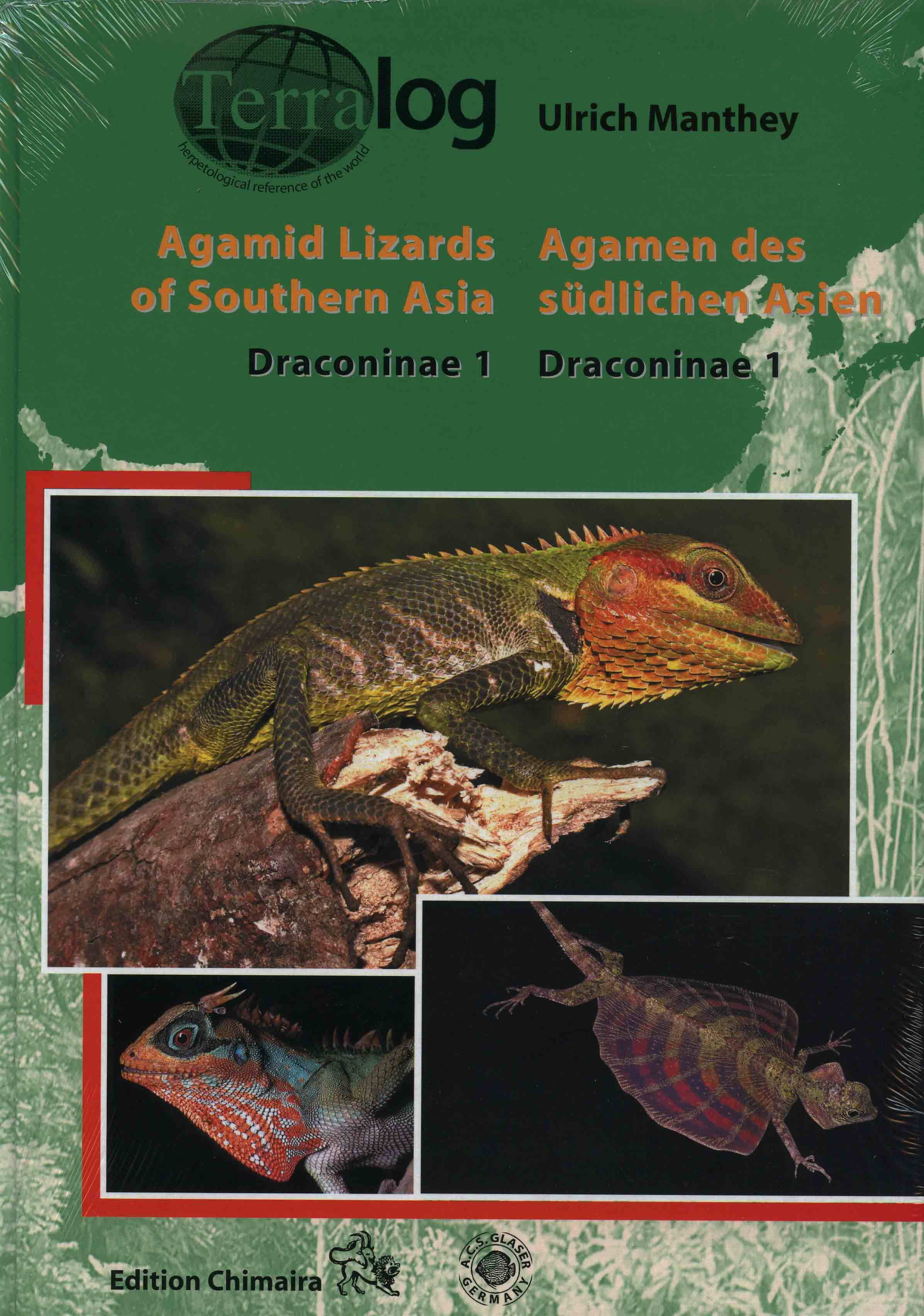 Image for Agamid Lizards of Southern Asia: Draconinae 1,
