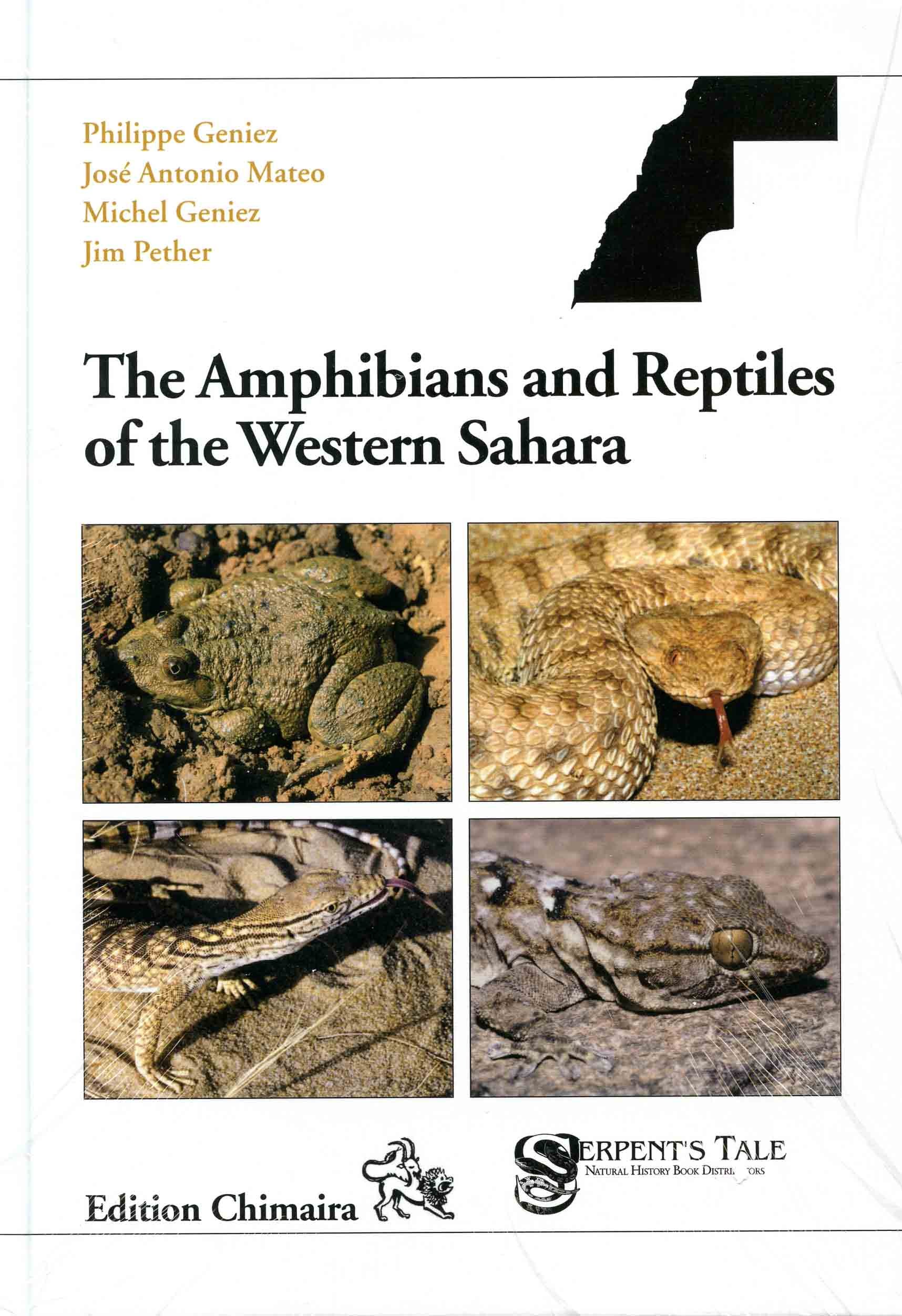 Image for The Amphibians and Reptiles of the Western Sahara