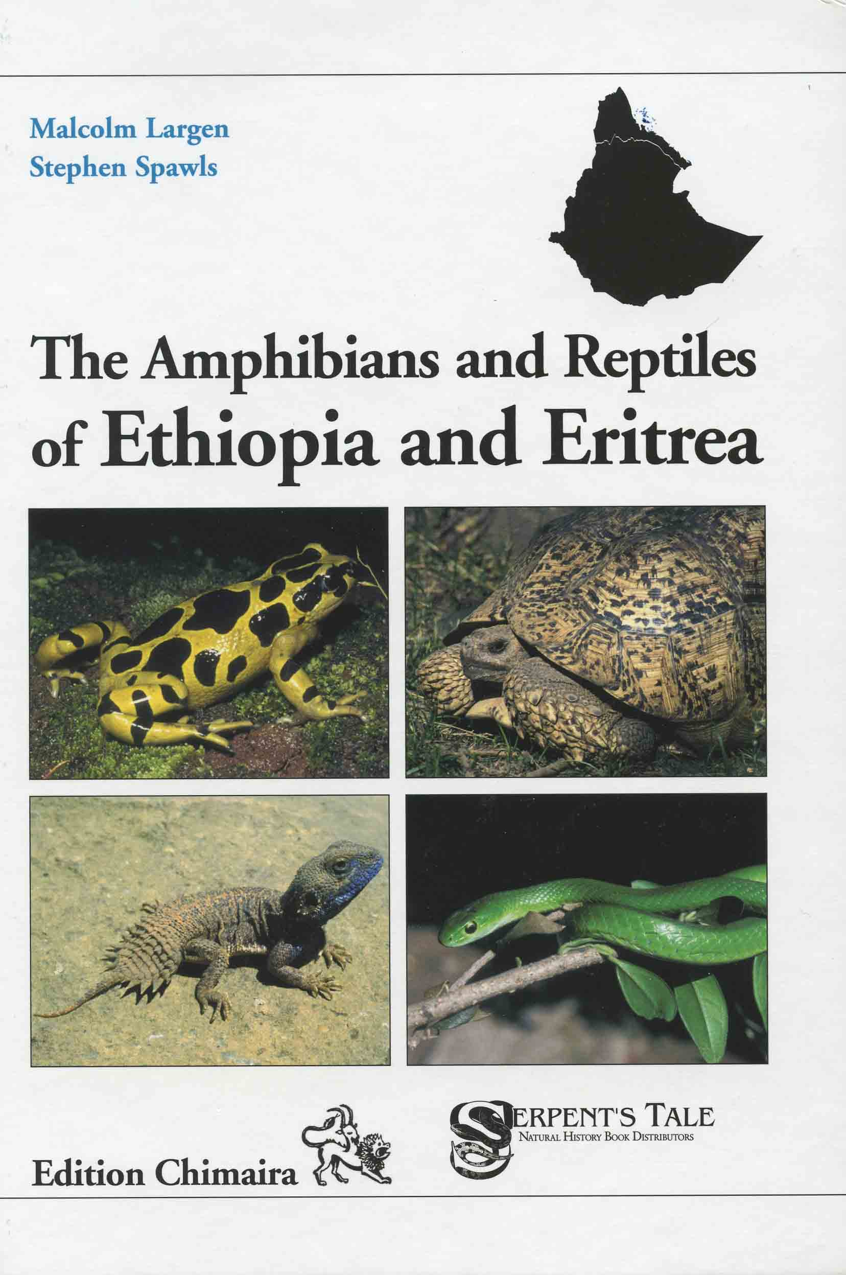Image for Amphibians and Reptiles of Ethiopia and Eritrea,