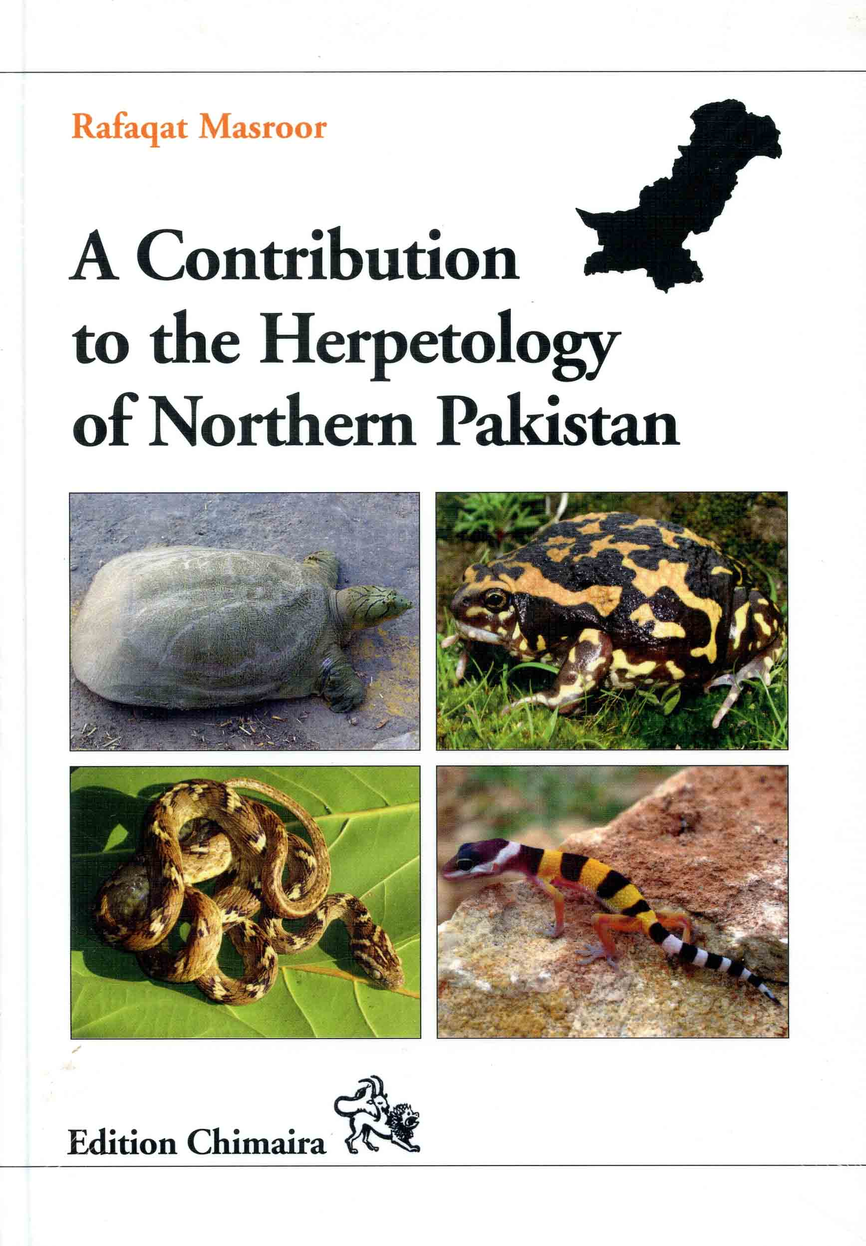 Image for A Contribution to the Herpetofauna of Northern Pakistan,