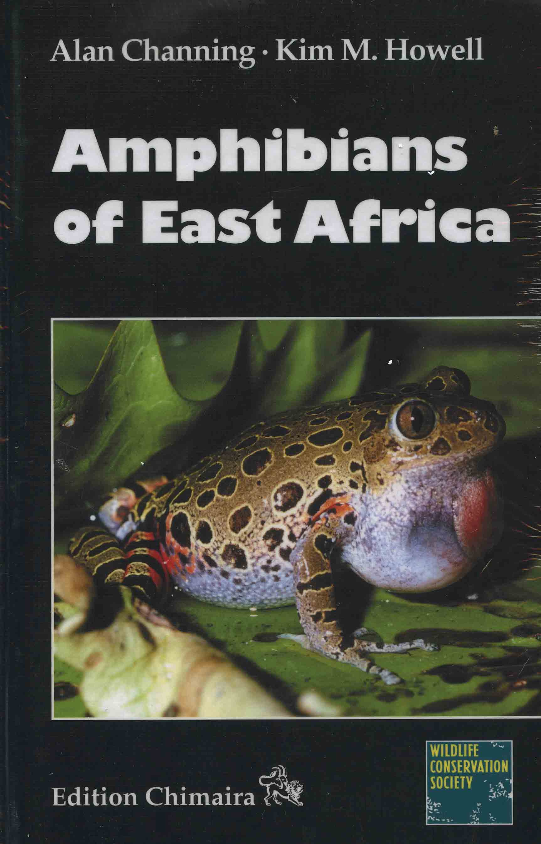 Image for Amphibians of East Africa,