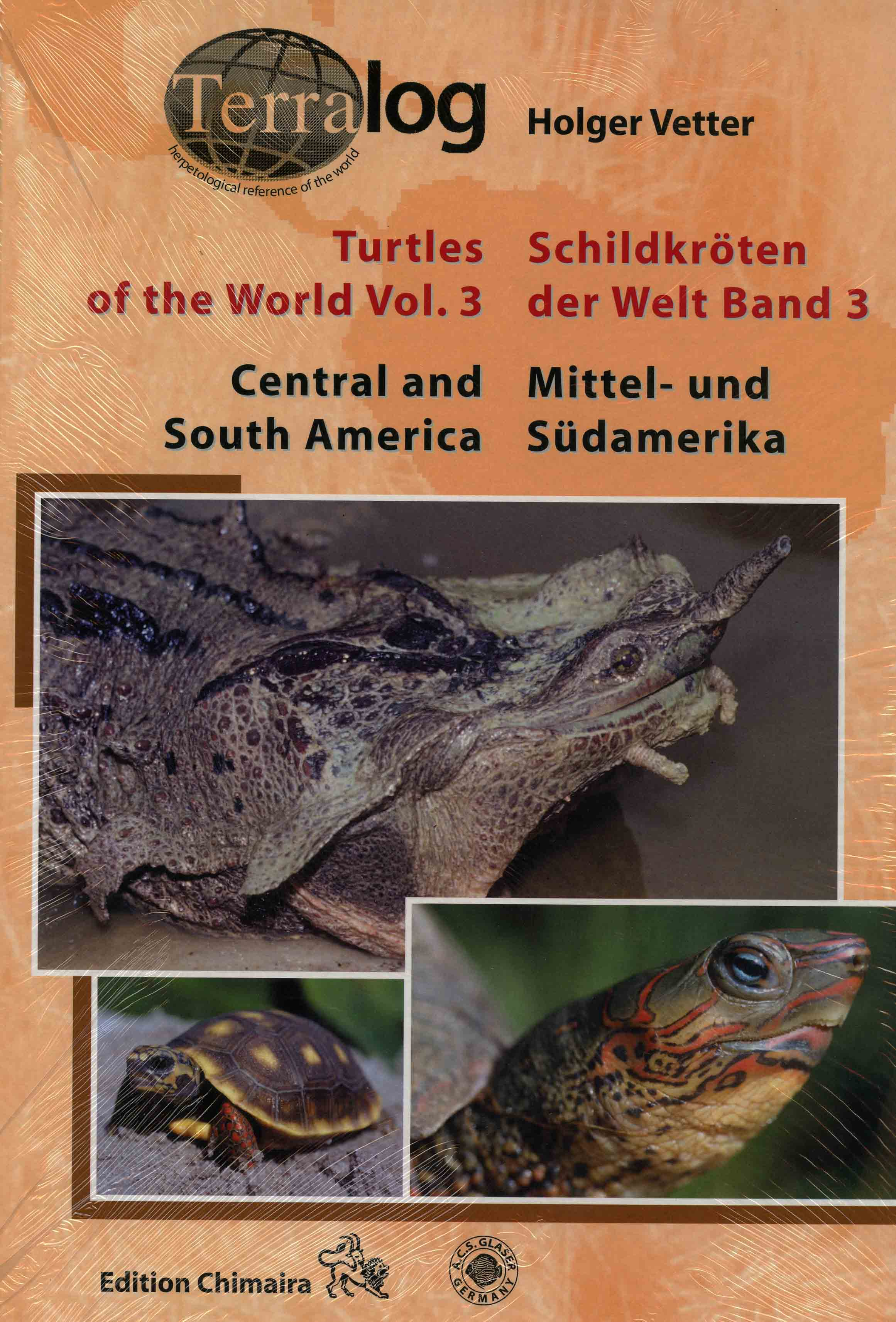 Image for Turtles of the World Vol. 3: Central and South America,