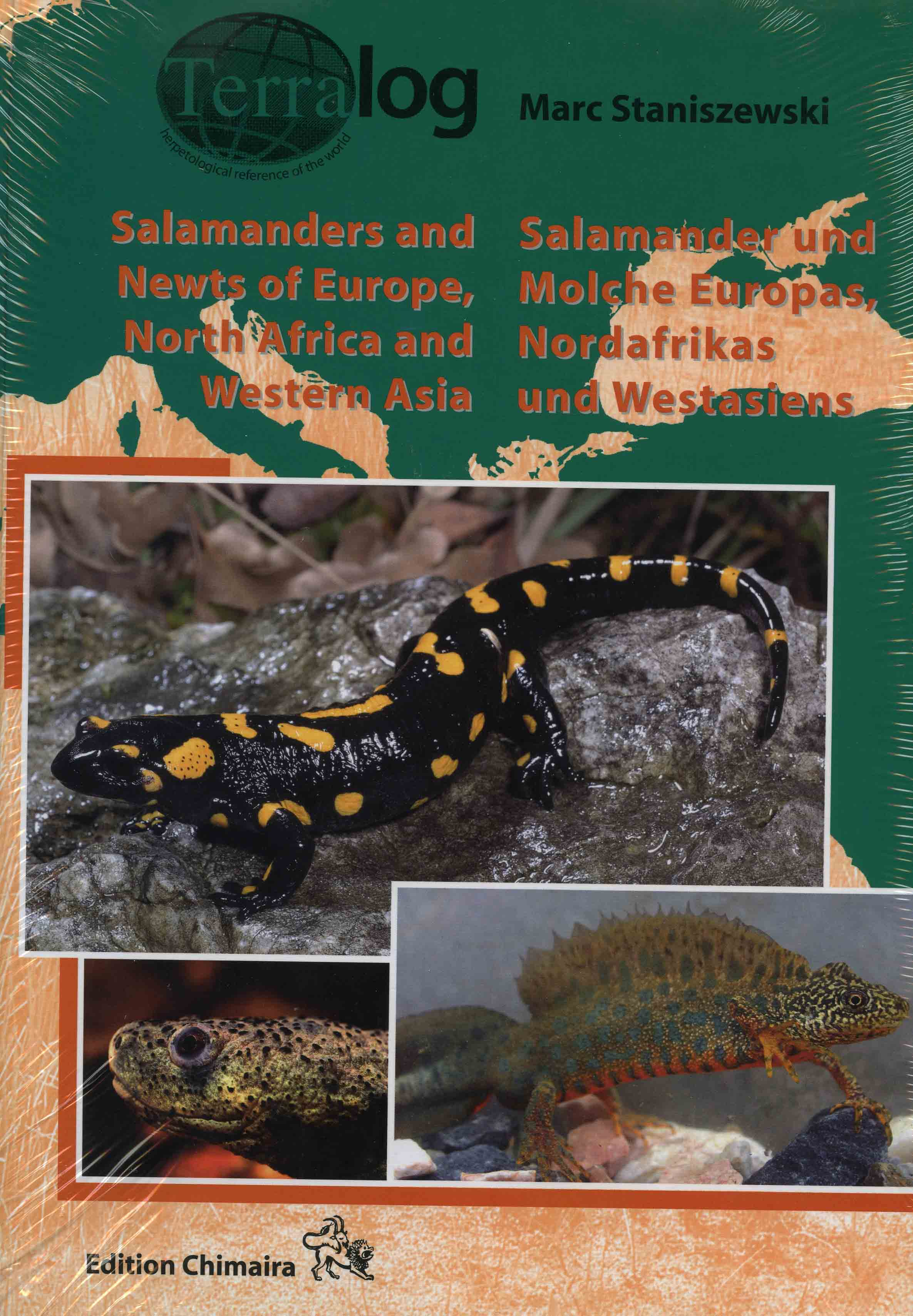 Image for Salamanders and Newts of Europe, North Africa, Western Asia,