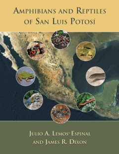 Image for Amphibians and Reptiles of San Luis Potosí,