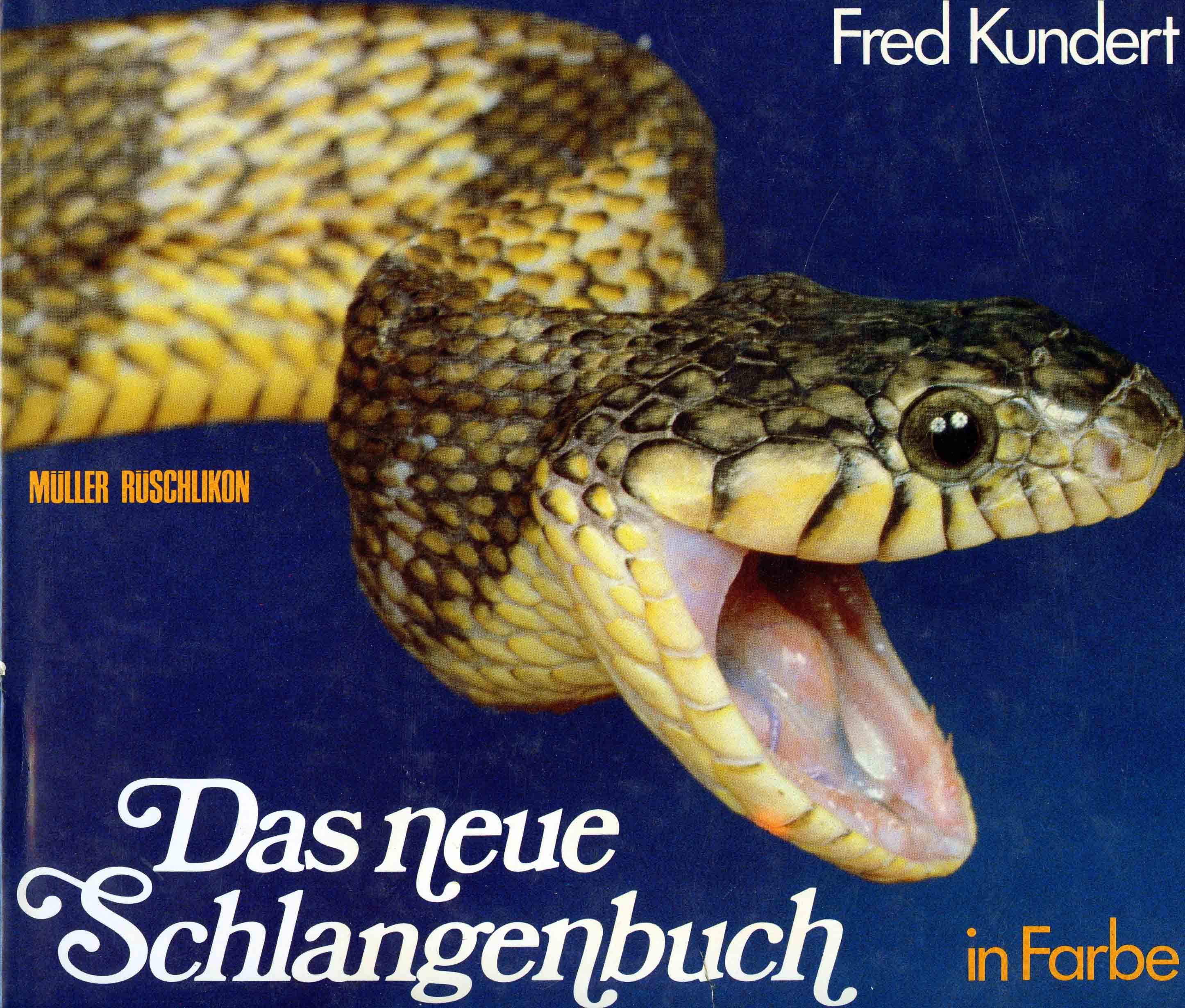 Image for Das Neue Schlangenbuch in Farbe (The New Snake Book in Color),