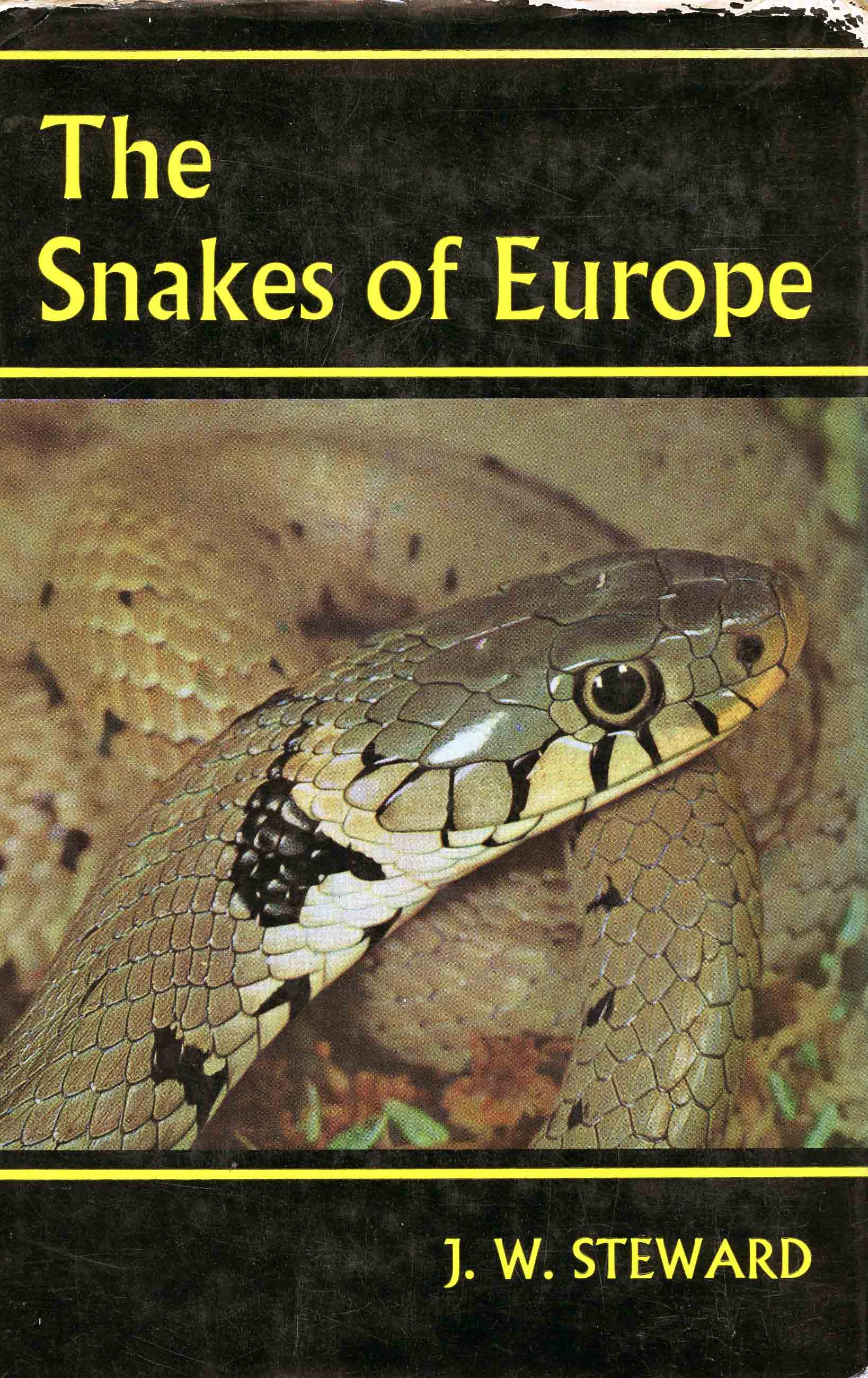 Image for The Snakes of Europe,
