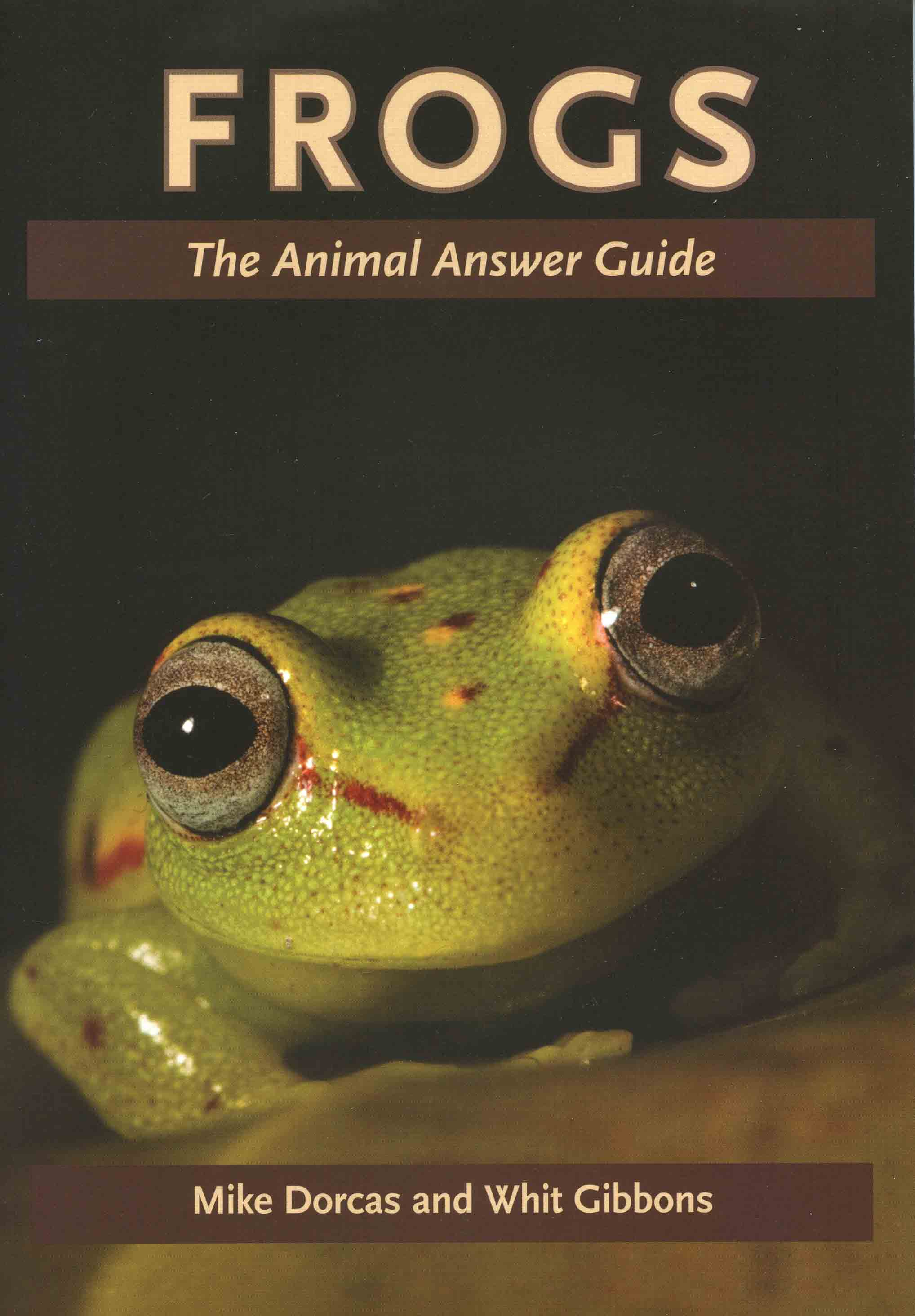 Image for Frogs: The Animal Answer Guide,