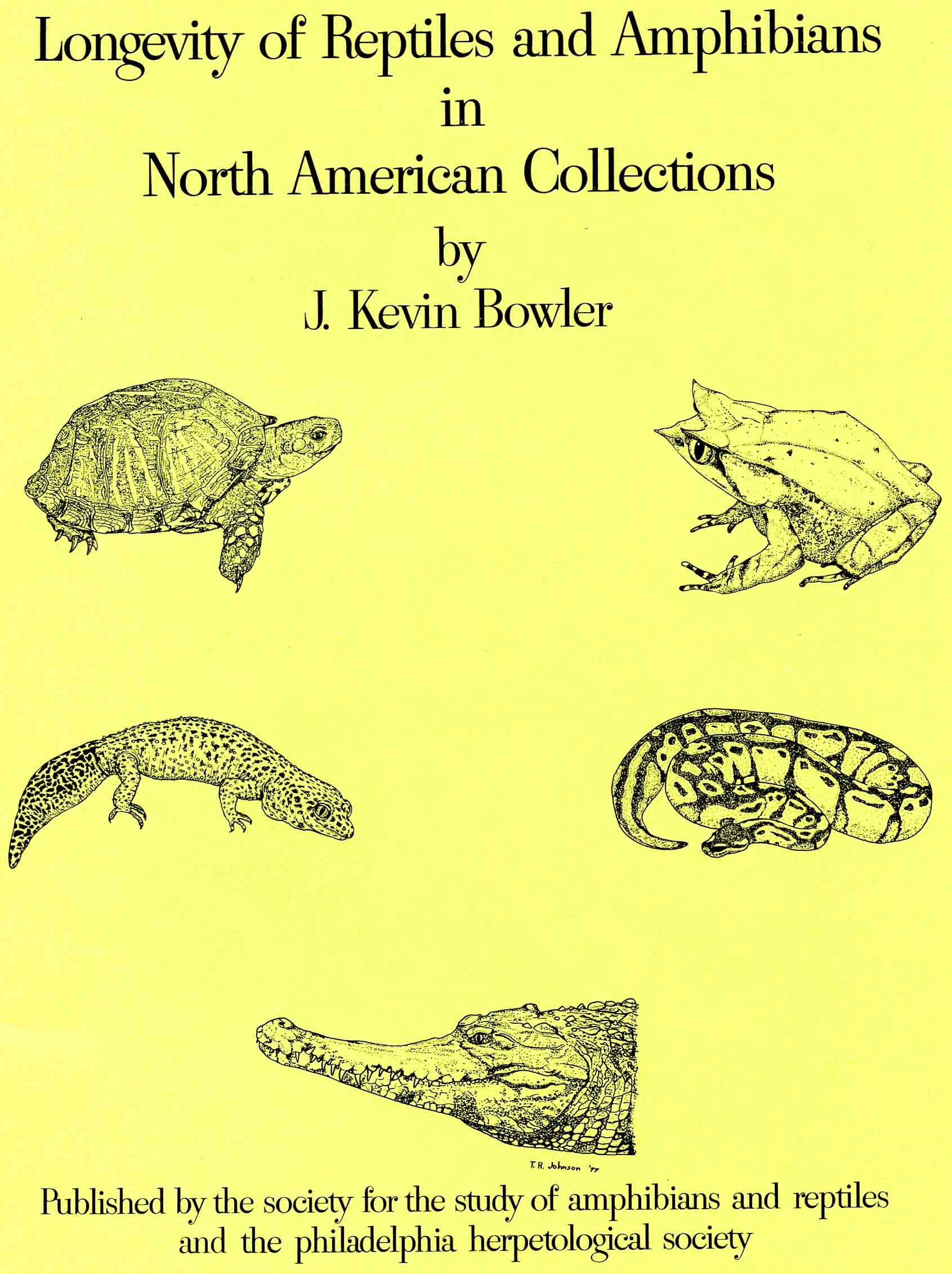 Image for Longevity of Reptiles and Amphibians in North American Collections,