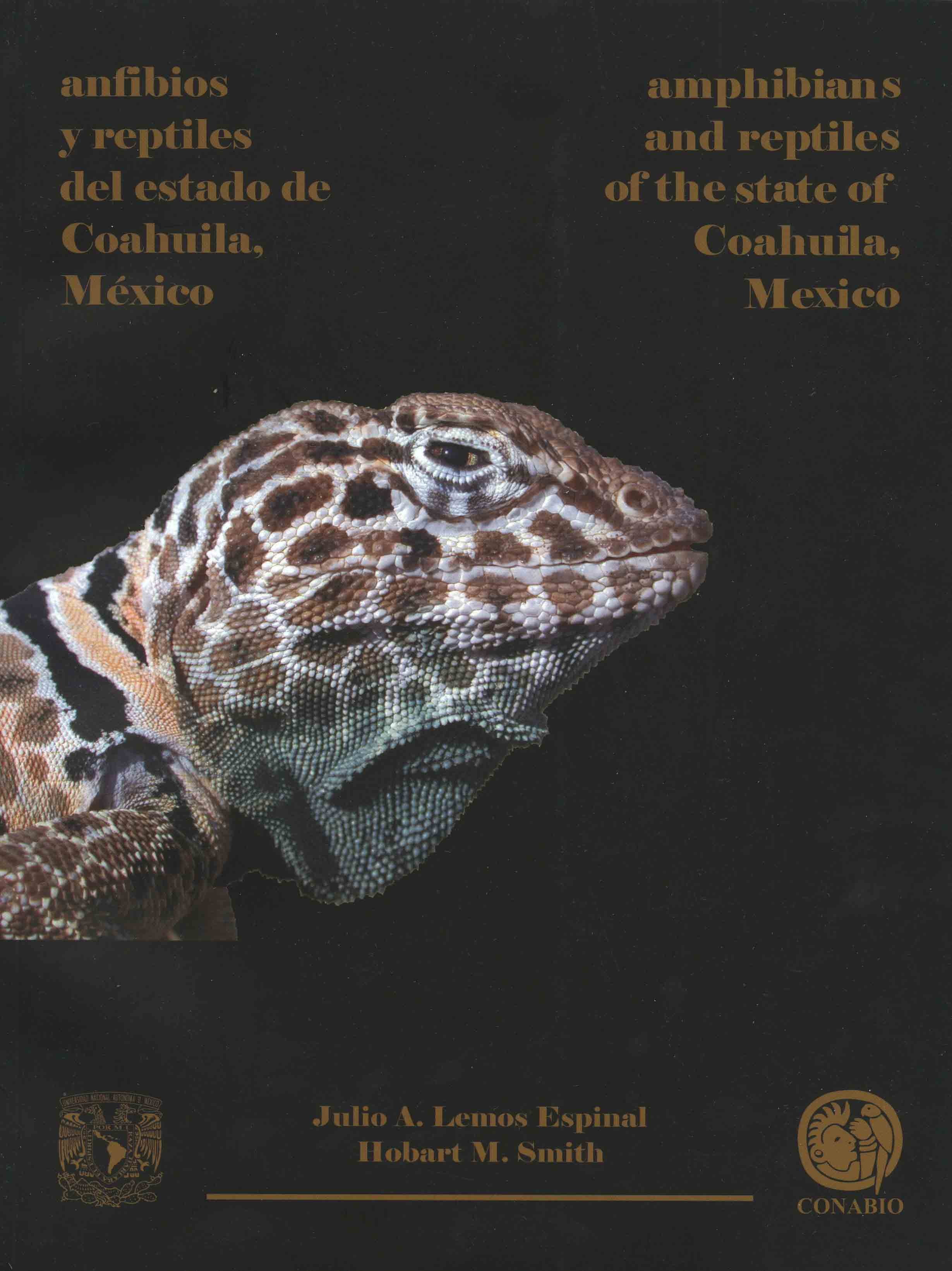 Image for Anfibios y Reptiles del Estado de Coahuila, México / Amphibians and Reptiles of the State of Coahuila, Mexico