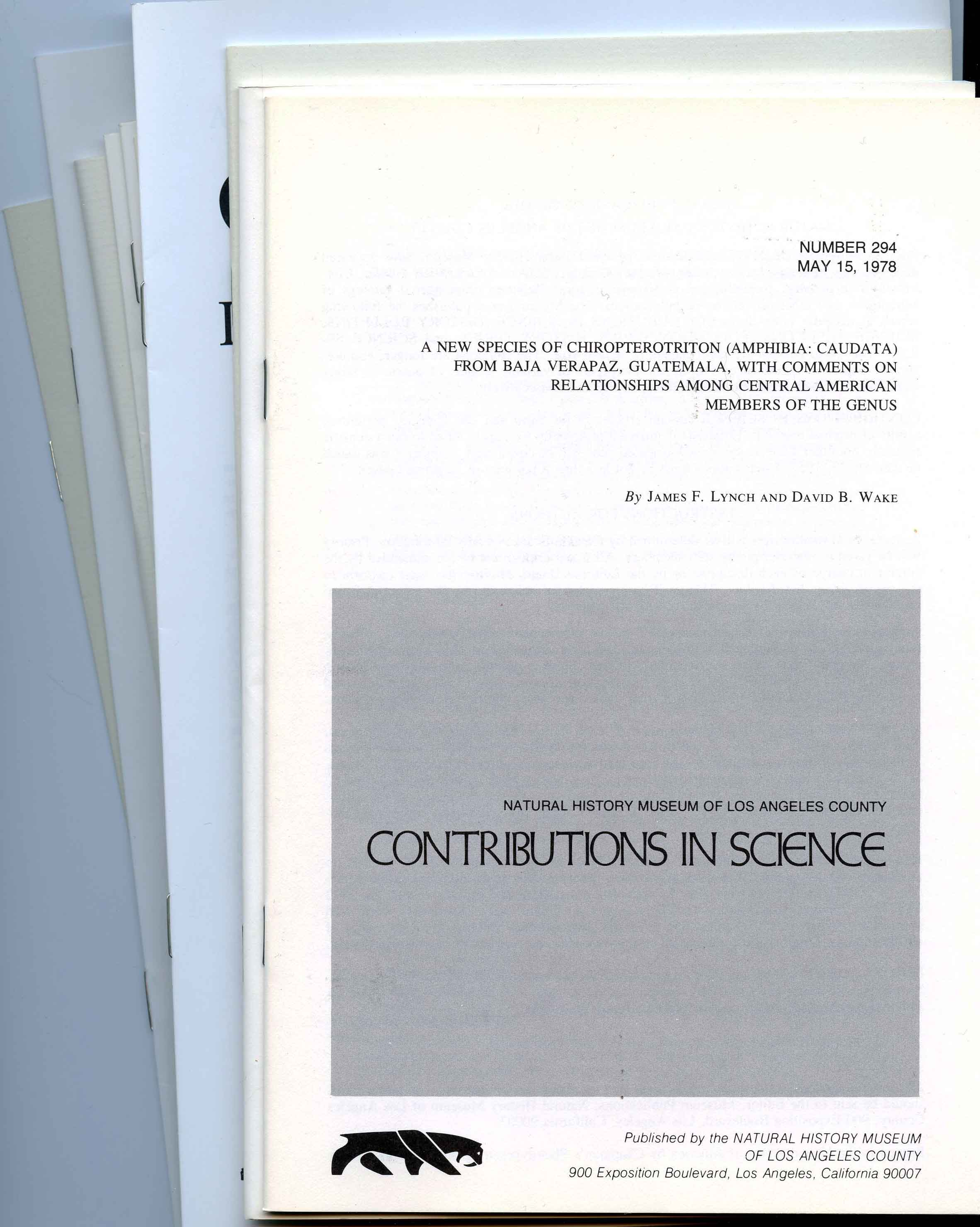 Image for Bundle #4 (Contributions in Science),
