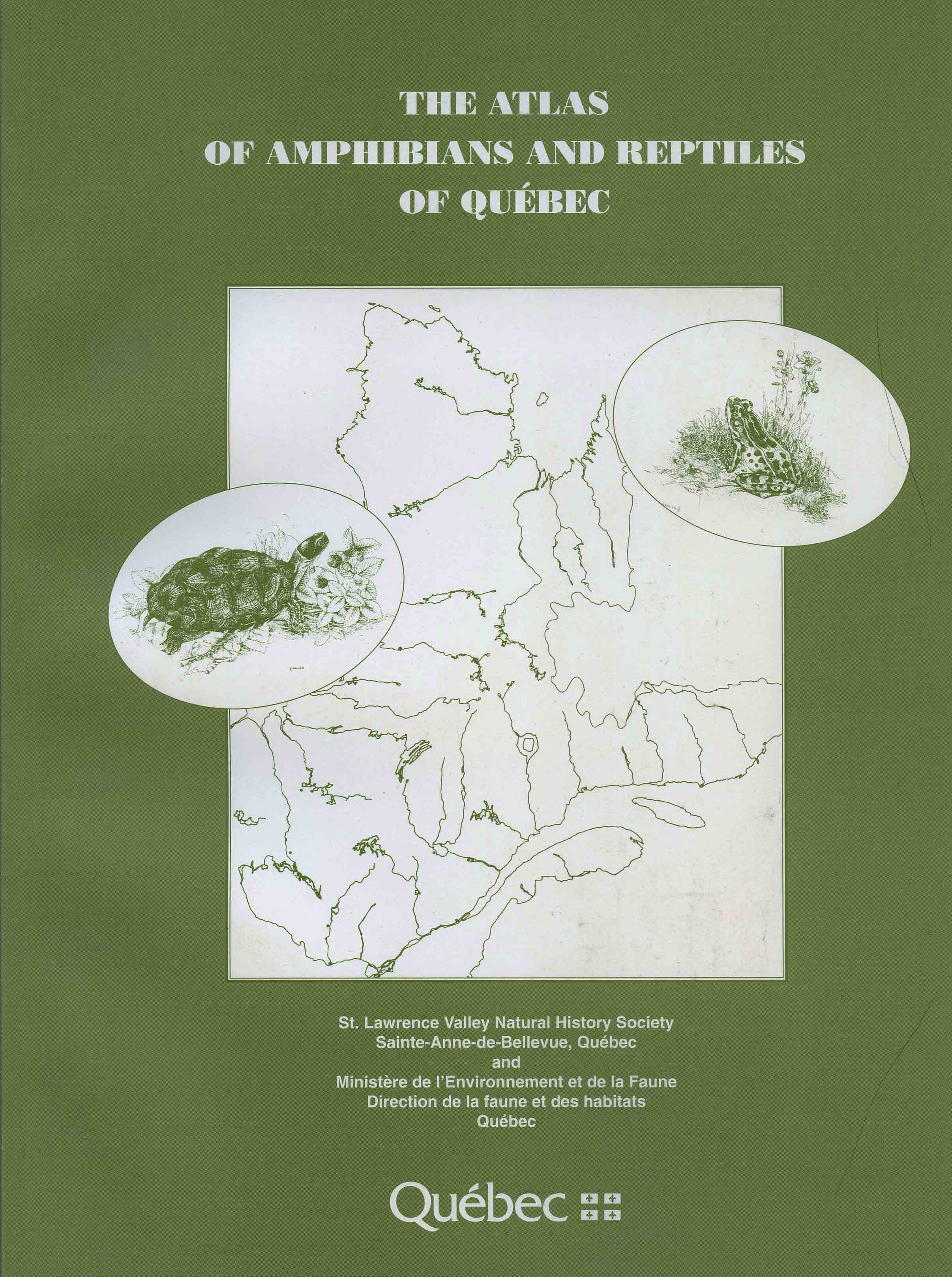 Image for The Atlas of Amphibians and Reptiles of Québec,