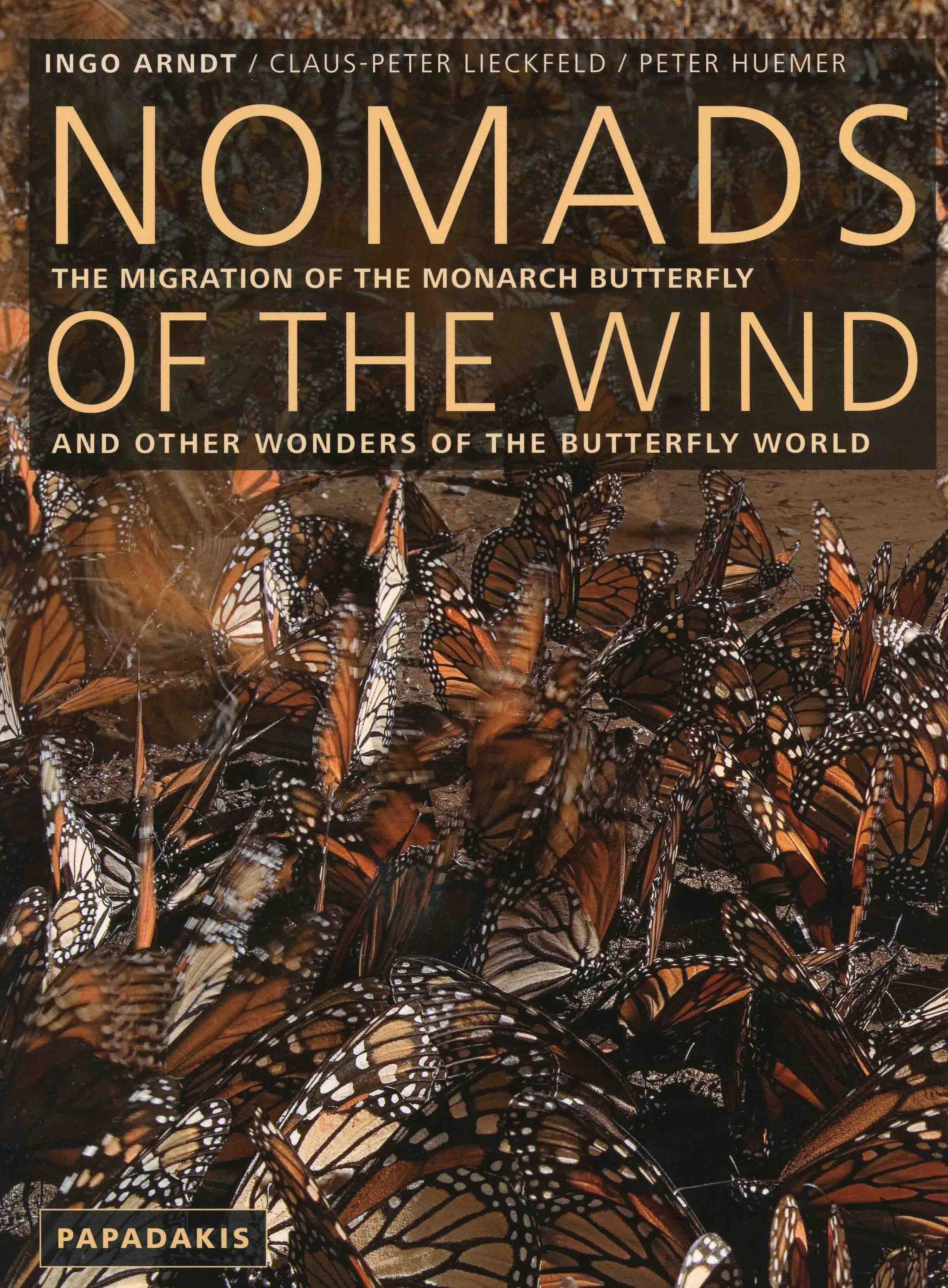 Image for Nomads of the Wind: The Migration of the Monarch Butterfly and other Wonders of the Butterfly World,